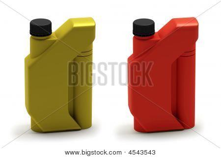 Motor Oil Bottle, Canister