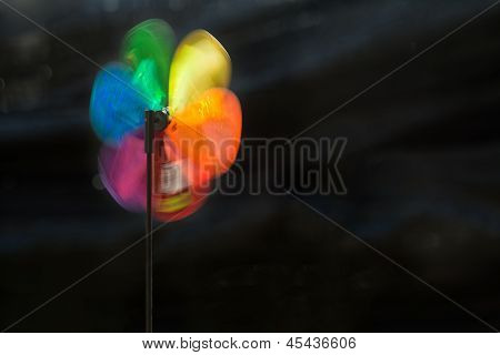 Colourful Windmill