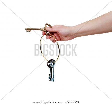 Holding The Antique Keys