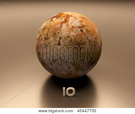 Jupitermoon Io