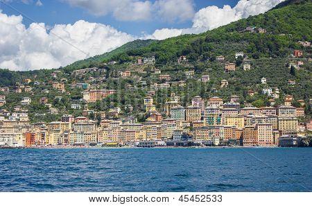 View of Camogli, Liguria coast