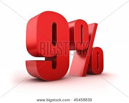 9 Por cento