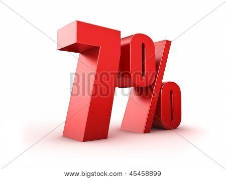 7 Por cento