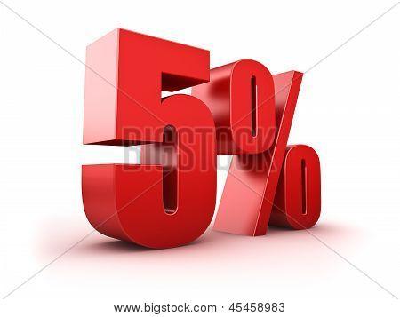 5 Por cento