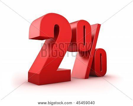 2 Por cento