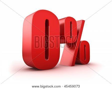 0 Por cento