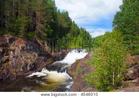 Kareliya Waterfall