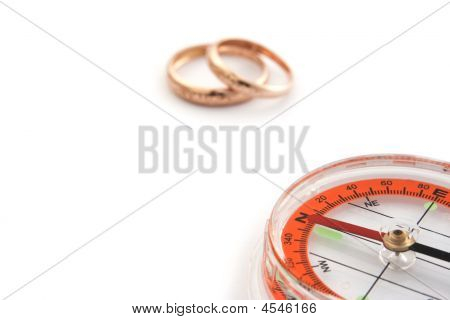 Compass With Two Rings