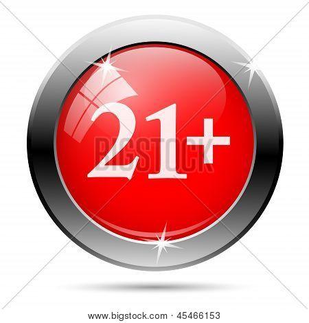 21 Plus Icon