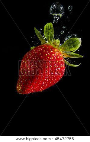 Splash strawberry