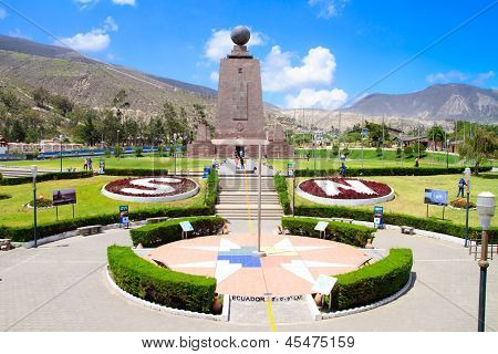 Middle of the World Monument Ecuador.