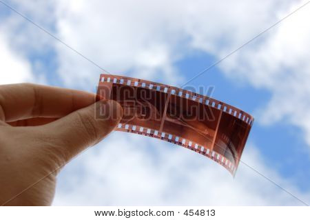 Film Holding With Hand