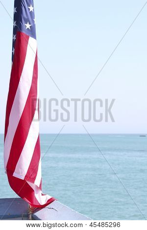 Isolated Flag