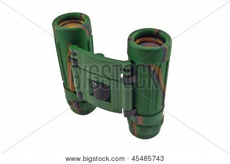Binocular With The Clarified Optics