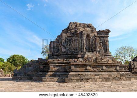 Ruins Of Candi Lumbung Buddhist Temple, Indonesia
