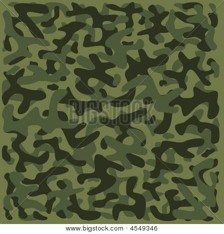 Camouflage Pattern 2 - Green