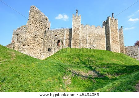 Framlingham Castle from outside