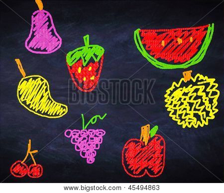 Illustration Of Fruits