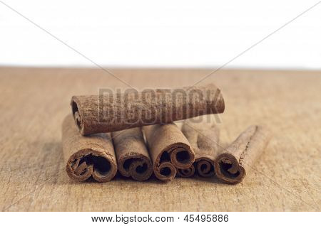 Cinnamon close up
