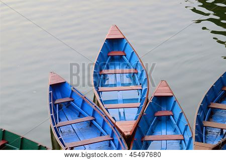 colourful boat