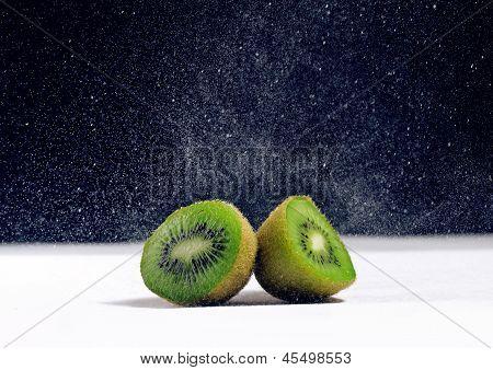 Fresh kiwi close up