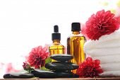 stock photo of fragrance  - Massage oil - JPG