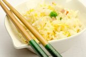 image of chinese menu  - Fried rice with egg - JPG