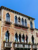 stock photo of megapixel  - Traditionnal architecture of Venice Italy 48 megapixels file - JPG