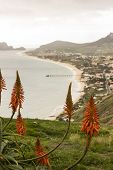 Porto Santo overview, Madeira Islands, Portugal