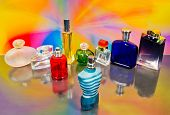 Set Of Luxury Perfume Bottles