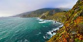 foto of mile  - California SR1 is one of the most beautiful coastlines in the world - JPG
