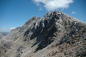 stock photo of gneiss  - The top of Beinn Eighe - JPG
