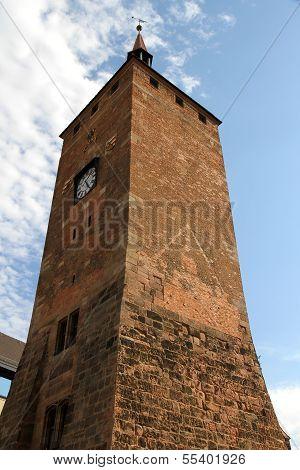 White Tower In Nuremberg