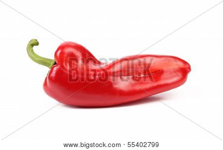 Red sweet pointy pepper(capsicum)