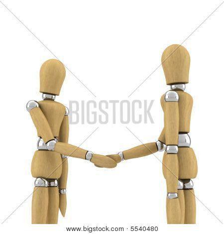 Shake de mão