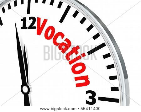 Vocation clock