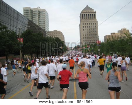 First Annual MLB All-Star Game 5K  Race - Midrace