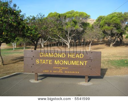 The Entrance to Diamond Head Crater