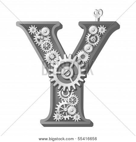 Mechanical alphabet