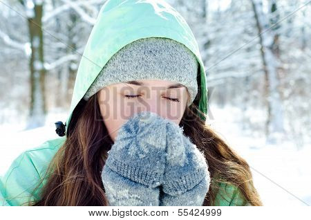 Woman In Winter