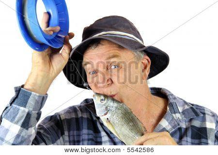 Beijando o pescador