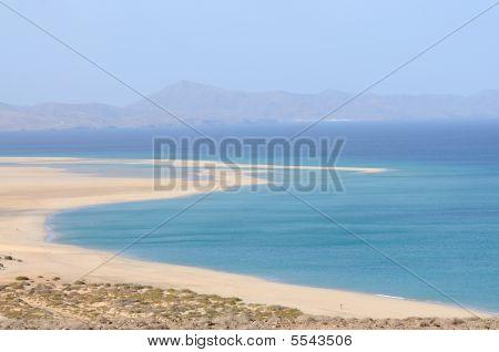 Playa De Sotavento, Canary Island Fuerteventura, Spain