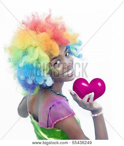 Cheerful Clown Love