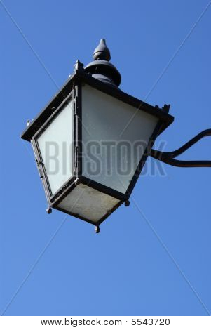 Old Lantern  In Cambridge