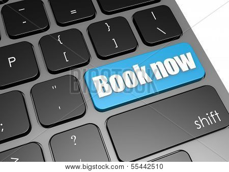 Book now with black keyboard