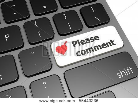 Please comment