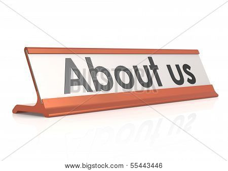 About us table tag