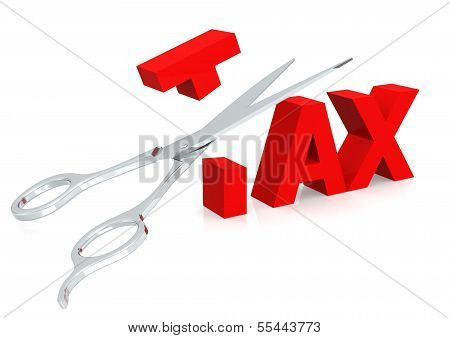Scissor and tax