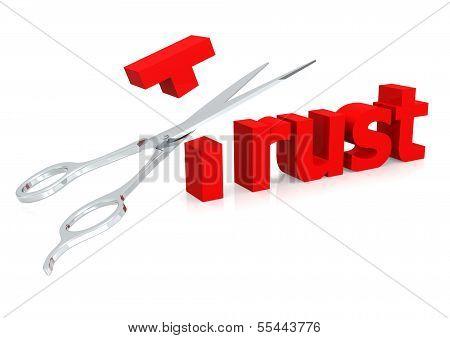 Scissor and trust