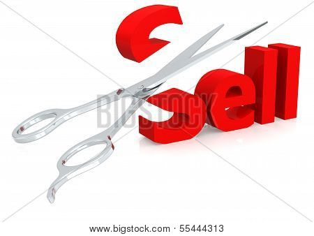 Scissor and sell